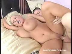 Claudia Marie Fucks Son's Friend