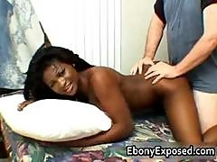 Black Hottie With Perfect Tits Pounded Part5