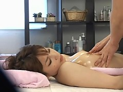 Young Bride seduced by massager