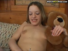 Playful Teen Plays Cock
