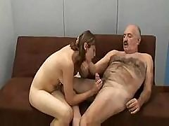 Young Teen Likes The Hard Cock Of An Older, More Experienced Man