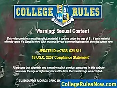 College and Dorm SexTapes at CollegeRulesNow.com - sample-23