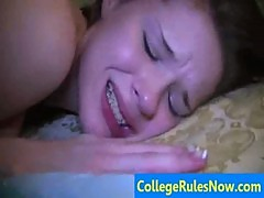Hot College Videos And REAL Dorm SexTapes - CollegeRulesNow.com sample03