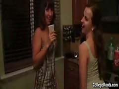 Sorority Slut Gets Banged Upstairs at Fra ...