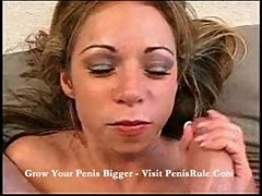 Terri- ride fucking machine and cum