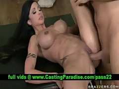 Jewels jade, lovely brunette fucking and gets cumshoot