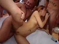 A Gangbang for Her Birthday