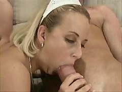 Mature-young gang bang