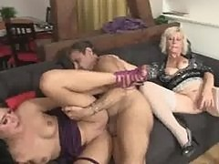 He leaves GF with his naughty parents