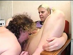 Homemade group fuck in the kitchen