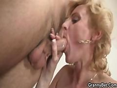 Mature Blonde Is Picked Up And Brought Home To Get Fucked