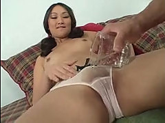 Young evelyn pounded by long white co...