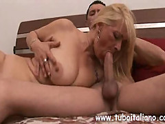 No Sound: Italian Mom Fucked by Younger Boy