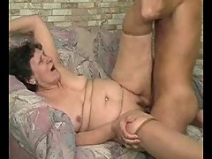 Granny Desperate for Cock