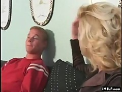 Mother Seducing Younger Neighbor