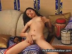 Nude Asian Teen Plays With Huge Dildo Part4