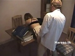 Teen girl gets fuck in office 2