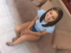 Tight Celina Cross banged