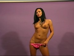 Simona's Tempting Striptease