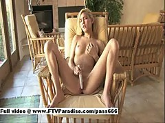 Alexa, from ftv girls, teen naked blonde chick on a chair