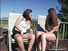 Alyssa and Holly are sexy teens
