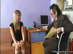 Andi and the tricky old teacher