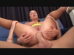Poly young slut with big tits fucked by assmaniac