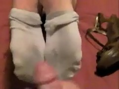 Cum shots to teen feet
