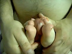 Neon toe dreams orange