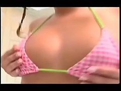 Pigtailed teen fanny fucker fun