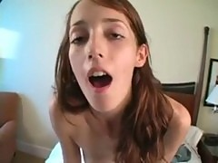 Teen on the fucking machine
