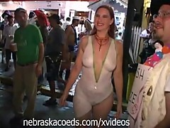 Crazy Halloween Street Party Part 2