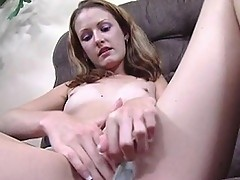 Sex crazed chick goes solo to ease boredom