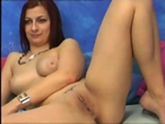 Hot Webcam Teen Playing With Pussy